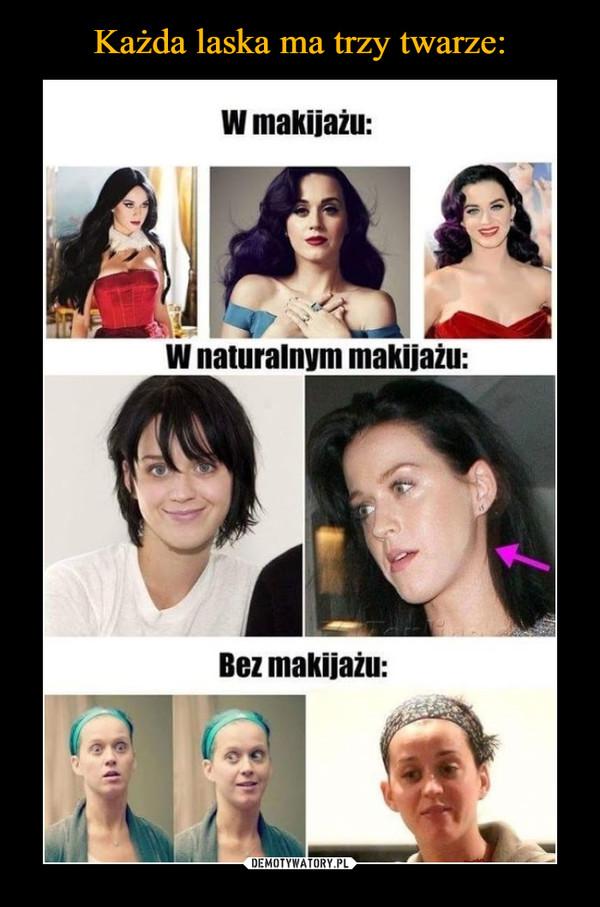 –  W makijażu w naturalnym makijażu bez makijażu