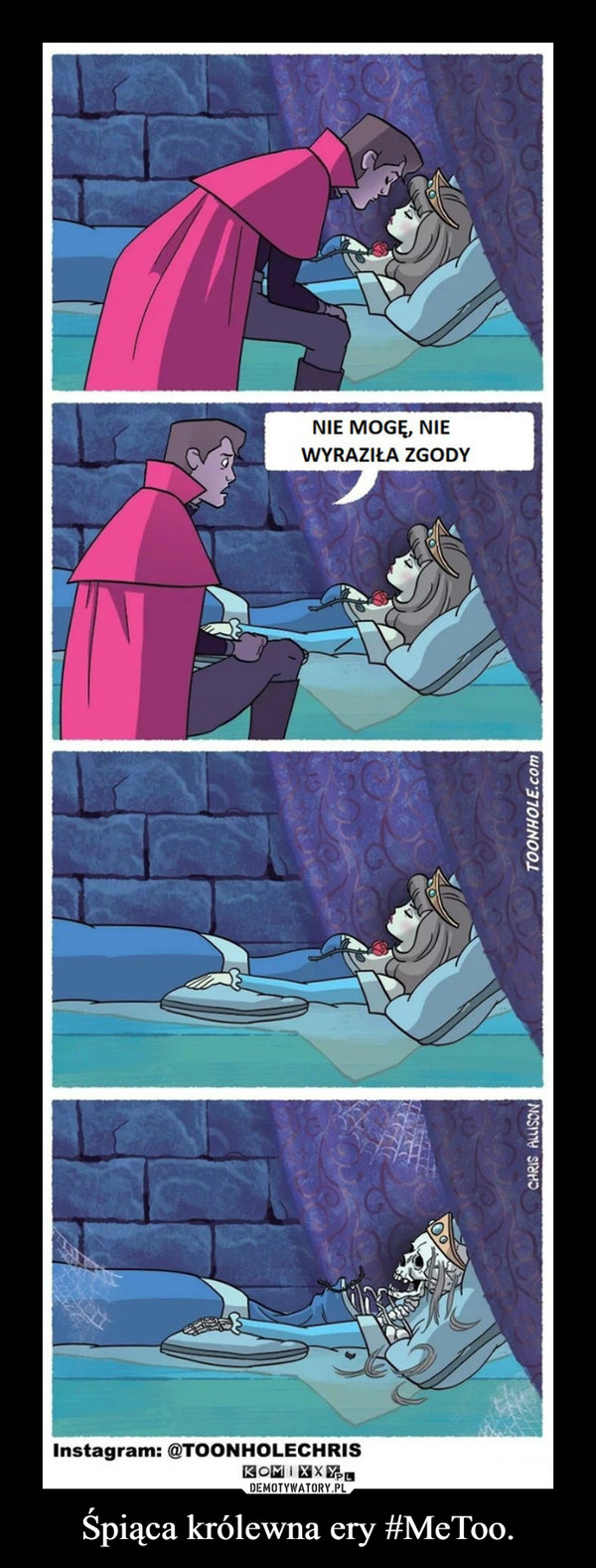 Śpiąca królewna ery #MeToo. –