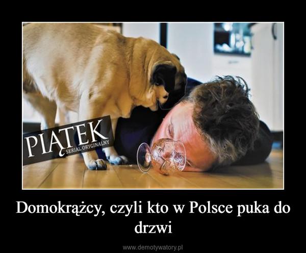 Domokrążcy, czyli kto w Polsce puka do drzwi –