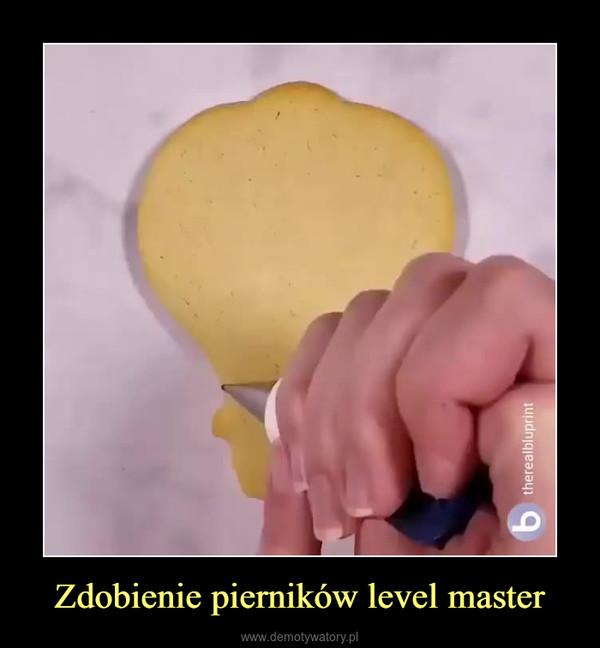 Zdobienie pierników level master –