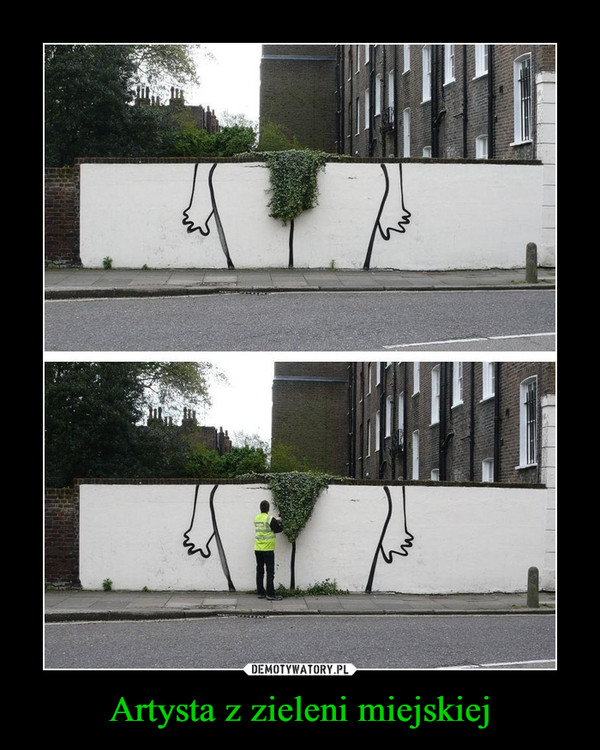 Artysta z zieleni miejskiej –