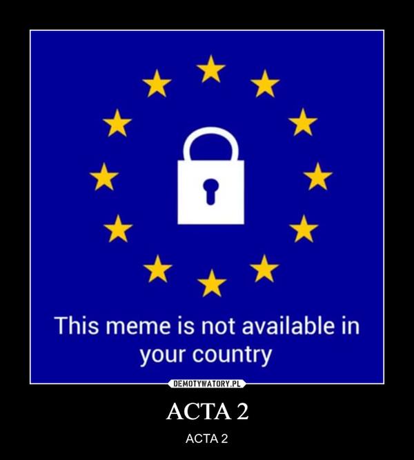 ACTA 2 – ACTA 2
