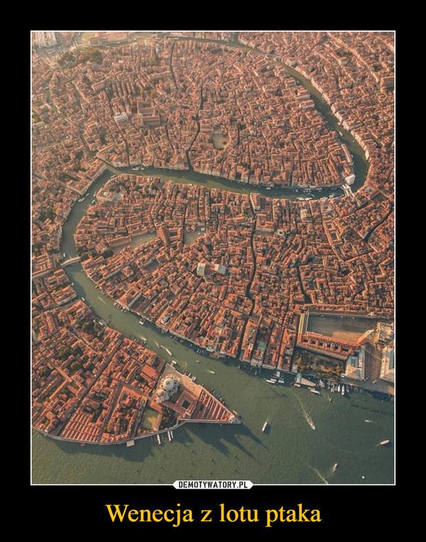 Wenecja z lotu ptaka –