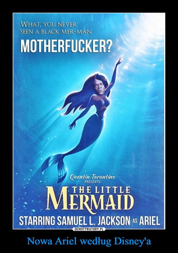 Nowa Ariel według Disney'a –