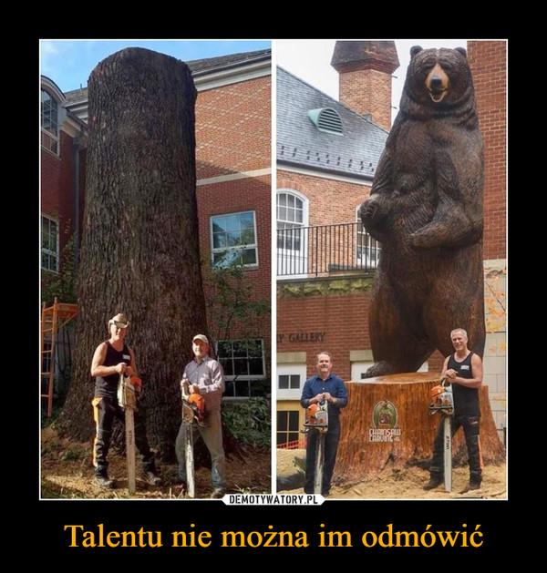 Talentu nie można im odmówić –