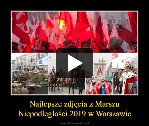Najlepsze zdjęcia z Marszu Niepodległości 2019 w Warszawie –