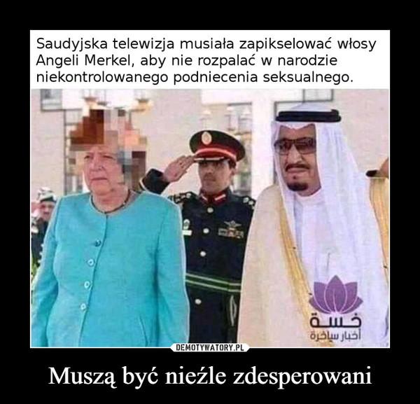 Muszą być nieźle zdesperowani –  Saudyjska telewizja musiała zapikselować włosyAngeli Merkel, aby nie rozpalać w narodzieniekontrolowanego podniecenia seksualnego