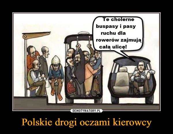 Polskie drogi oczami kierowcy –