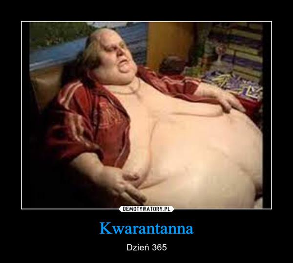 Kwarantanna – Dzień 365