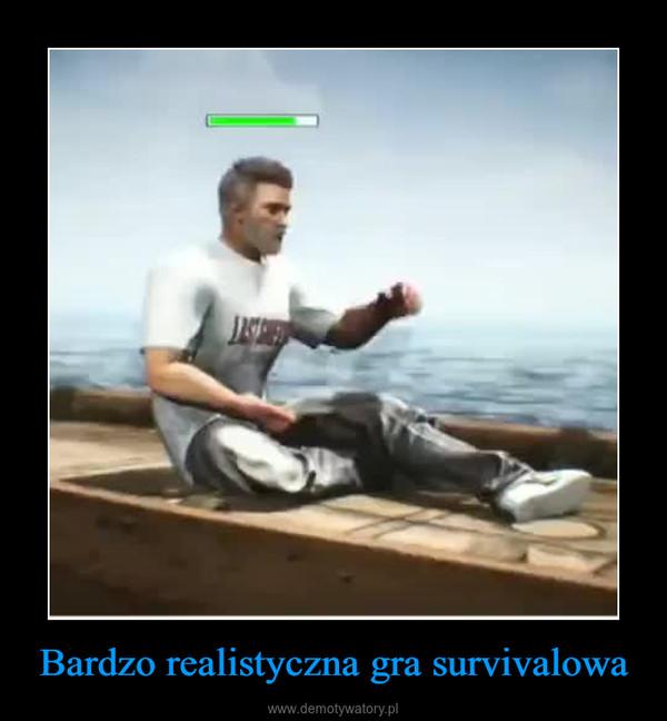 Bardzo realistyczna gra survivalowa –