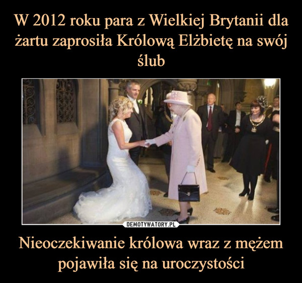 Nieoczekiwanie królowa wraz z mężem pojawiła się na uroczystości –