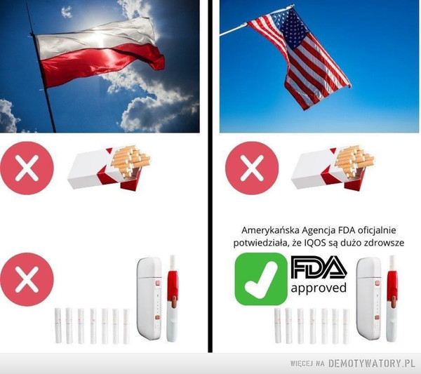 Polska vs. Ameryka –