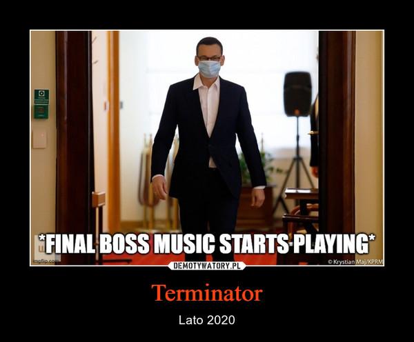 Terminator – Lato 2020