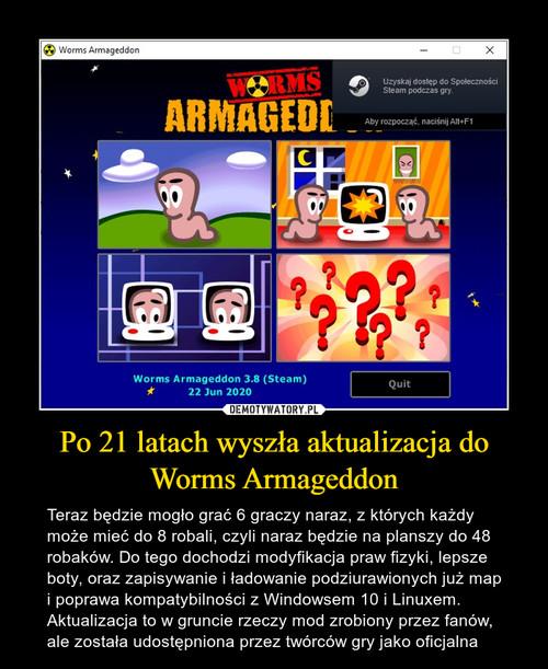 Po 21 latach wyszła aktualizacja do Worms Armageddon