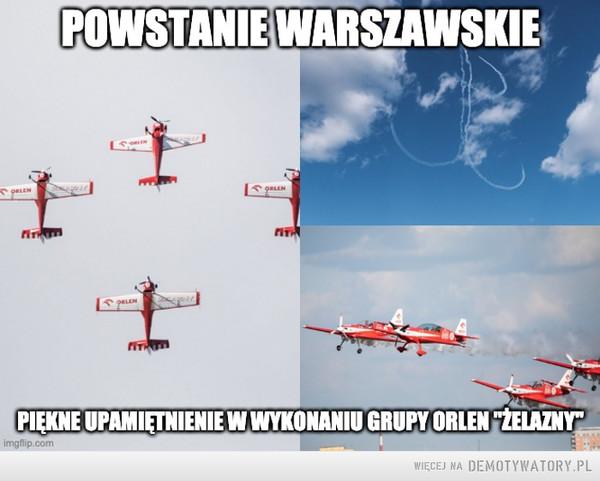 Grupa Żelazny upamiętniła Bohaterów Powstania Warszawskiego – Cześć i chwała Bohaterom