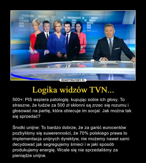 Logika widzów TVN...