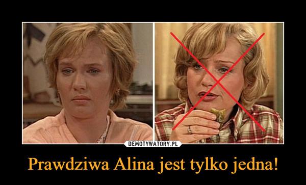 Prawdziwa Alina jest tylko jedna! –