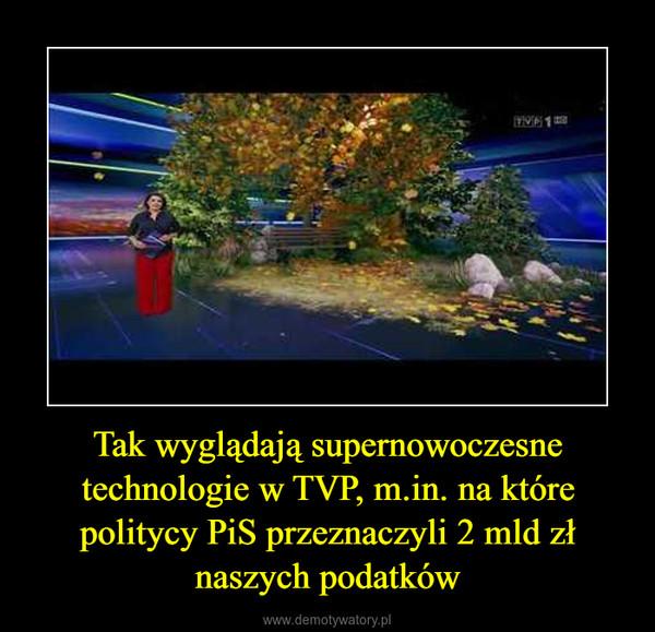 Tak wyglądają supernowoczesne technologie w TVP, m.in. na które politycy PiS przeznaczyli 2 mld zł naszych podatków –