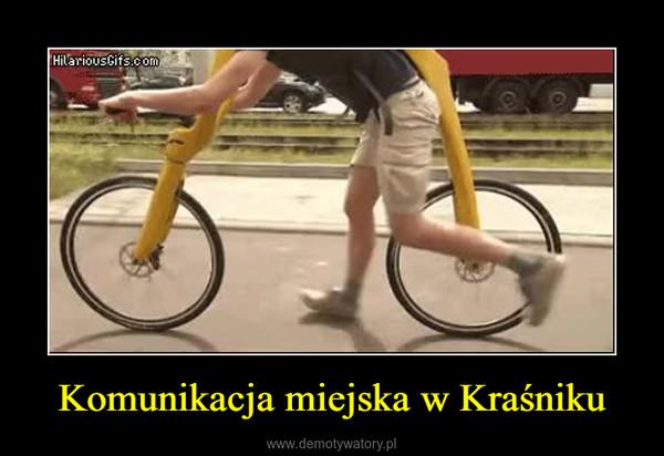 Komunikacja miejska w Kraśniku –