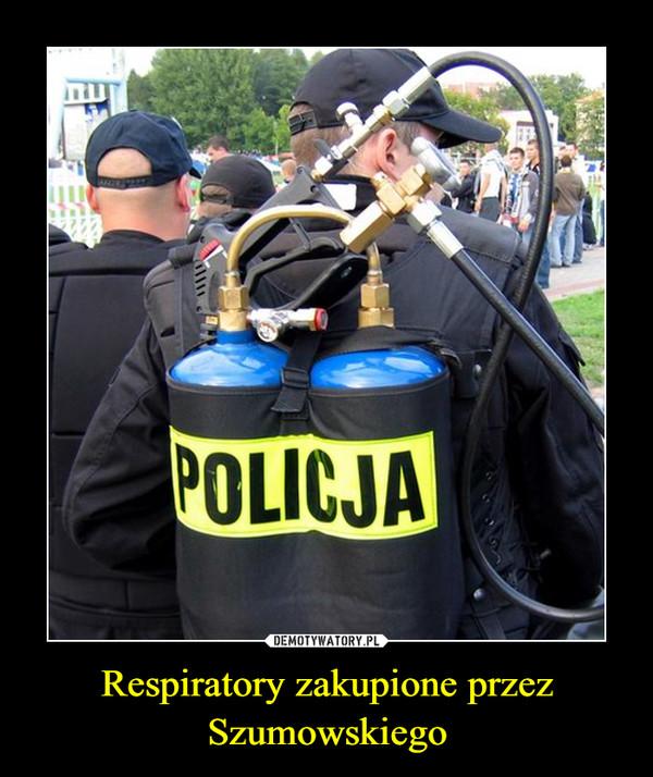 Respiratory zakupione przez Szumowskiego –
