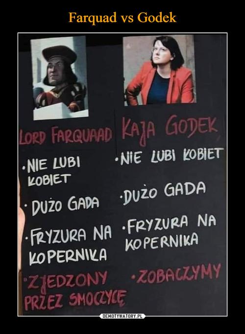Farquad vs Godek