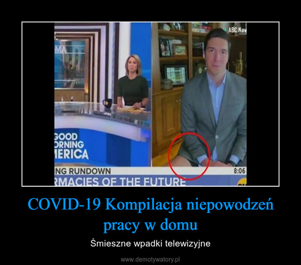 COVID-19 Kompilacja niepowodzeń pracy w domu – Śmieszne wpadki telewizyjne