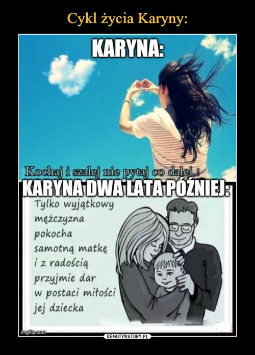 Cykl życia Karyny: