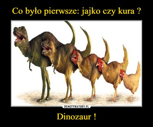 Dinozaur ! –