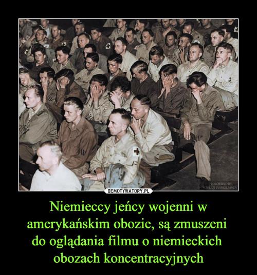 Niemieccy jeńcy wojenni w amerykańskim obozie, są zmuszeni  do oglądania filmu o niemieckich  obozach koncentracyjnych