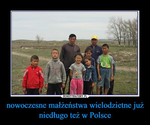 nowoczesne małżeństwa wielodzietne już niedługo też w Polsce